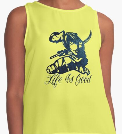 Life Is Good Contrast Tank