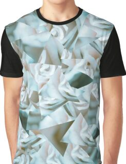 Abstract floral triangles Graphic T-Shirt