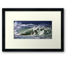 Andy Irons At 2009 Quiksilver in Memory of Eddie Aikau Contest Framed Print