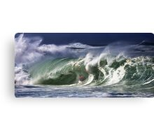 Andy Irons At 2009 Quiksilver in Memory of Eddie Aikau Contest Canvas Print