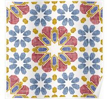 Moroccan Tile Poster