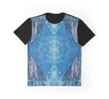 Crystalline Blue 4 Graphic T-Shirt
