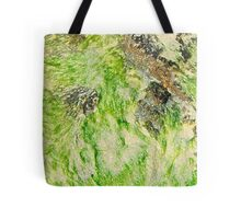 Lime Seaweed Tote Bag