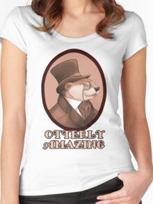 Otterly Amazing Women's Fitted Scoop T-Shirt