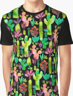 Cacti garden Graphic T-Shirt