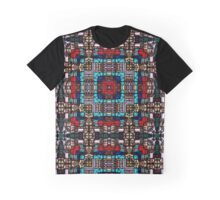 Stained Glass 1 Graphic T-Shirt