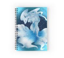Ninetales [Alola form] Pokemon Sun and Moon Spiral Notebook