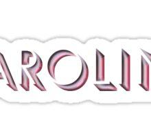 Caroline Sticker