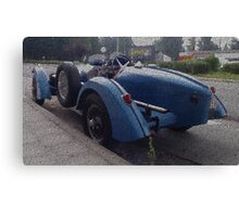 Classic British MG Sportscar Painting Canvas Print