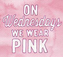 On Wednesdays We Wear Pink by Jade Jones