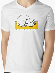 That Cat - is sleeping Mens V-Neck T-Shirt