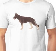 German Shepherd: Liver & Tan Unisex T-Shirt