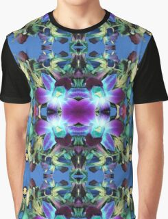 Floral Explosion Pattern Graphic T-Shirt