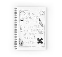 Jesus Christ Lyrics Spiral Notebook