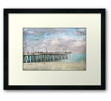 Think In the Open Air Framed Print