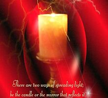 Be The Candle by Marie Sharp