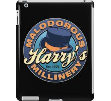 Harry's Malodorous Millinery iPad Case/Skin