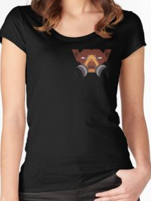 Monkey Head Women's Fitted Scoop T-Shirt