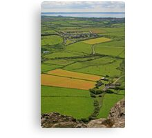View from Carn Llidi Canvas Print