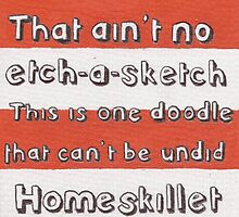 Ain't No Etch-A-Sketch by Jade Jones