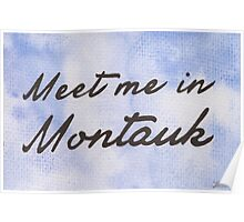 Meet Me in Montauk Poster
