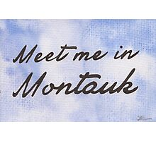 Meet Me in Montauk Photographic Print