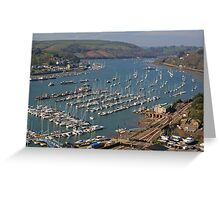 The River Dart Greeting Card