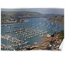 The River Dart Poster