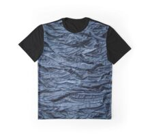 Blueish waves Graphic T-Shirt