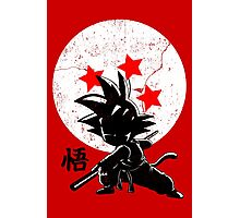 KID HERO - Son Goku Photographic Print