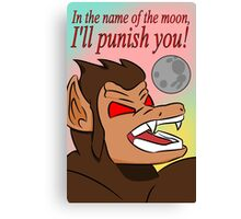 In the Name of the Moon Canvas Print