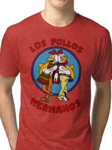 LOS POLLOS BREAKING BAD Tri-blend T-Shirt