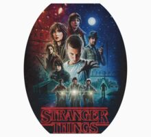 Stranger Things Netflix Kids Tee