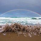 Great ocean rainbow by Chris  Staring