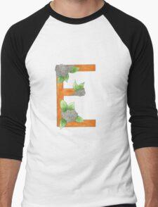 E is for Elderflower Men's Baseball ¾ T-Shirt
