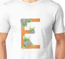 E is for Elderflower Unisex T-Shirt