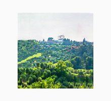 Tuscany idyllic landscape - watercolor painting Unisex T-Shirt