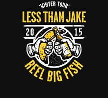 LESS THAN JAKE X REEL BIG FISH Unisex T-Shirt