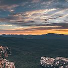 Grampians sunset by Chris  Staring
