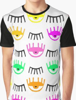 Eyes and Lashes Graphic T-Shirt