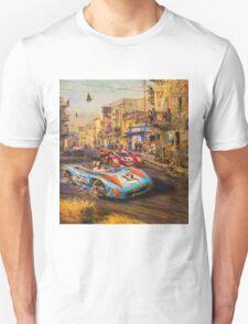 Watercolor Race Cars Unisex T-Shirt