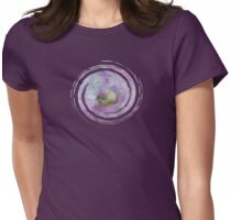 See the World through Flowers - JUSTART © Womens Fitted T-Shirt