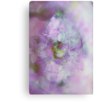 See the World through Flowers - JUSTART © Canvas Print