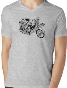 exploded Solex 2 Mens V-Neck T-Shirt