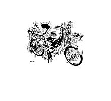 exploded Solex 2 Photographic Print