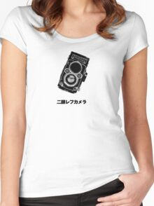 Japan Rollei Women's Fitted Scoop T-Shirt