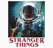 Stranger Things space Kids Tee