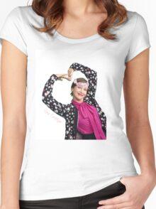 Vera Farmiga Women's Fitted Scoop T-Shirt