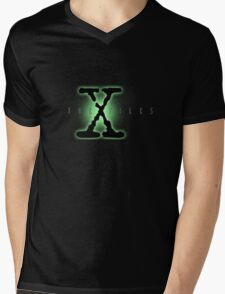 The X files Mens V-Neck T-Shirt