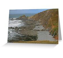 Damehole Point Greeting Card